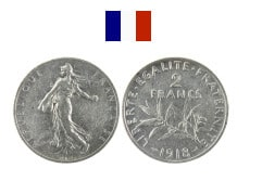 2 Francs Semeuse (1898-1920)