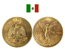 50 Pesos Mexicains